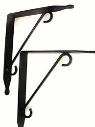 large shelf brackets. Modren Large Large Iron Shelf Brackets  Made In The USA Pair Of 2 To S
