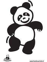 Kleurplaat Pandabeer Kleurplatennl Logos Voor Onze Groepen