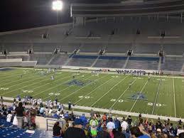 Liberty Bowl Memorial Stadium Section 103 Row 50 Home Of