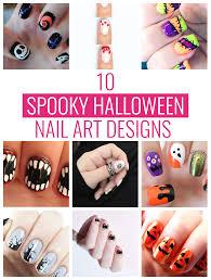 10 Spooky Halloween Nail Art Designs | Mom Spark - Mom Blogger