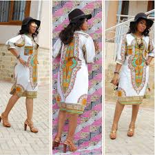 African Attire Outfits Designs African Clothing Traditional Print Dashiki Dresses 2015