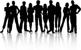 group of people clipart black and white.  Black Milano  Nuclear Physics Vector Black And White Download On Group Of People Clipart Black And White T