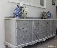 white and grey bedroom furniture. Furniture Gorgeous Bedroom Decoration Using 6 Drawer Gray Painted White And Grey
