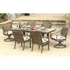 7 piece pub dining set patio pub set davenport collection 7 piece outdoor patio dining set