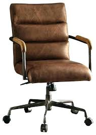 vintage leather office chair. Antique Office Chair Vintage Leather Executive Brown