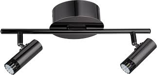 contemporary track lighting fixtures. EGLO 201225A Lianello Contemporary Black Chrome LED 2-Light Track Lighting Fixture. Loading Zoom Fixtures