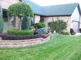 front yard retaining wall front yard