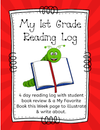 First Grade Reading Log My 1st Grade Reading Log
