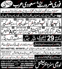 Pipe Fitter Pipe Fabricator Store Keeper Job Opportunity 2017