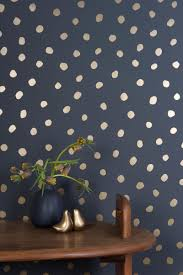 Polka Dot Walls Will Pop Anywhere In Your Home! | Navy blue, Navy ...