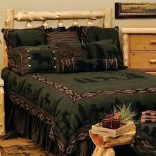 rustic cabin bedding sets browning plaid bedding rustic log cabin comforter sets