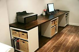 incredible office desk ikea besta. Office Desk With Ikea Besta Cabinets. Awesome DIY. Incredible U