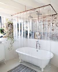 com usa made peva shower curtain liner pvc free clear durable 9 gauge bottom magnets 72 x 72 home kitchen