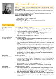 Resume Samples Mesmerizing 40 Resume Samples From Real Professionals Who Got Hired Kickresume
