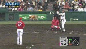 Japanse pitcher breaks unwritten baseball law.