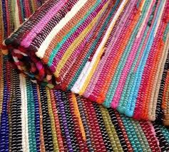 fair trade loom recycled rag rug chindi shabby chic woven woven rag rug patterns
