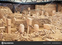 Gobeklitepe Sanliurfa Turkey Gobekli Tepe Archaeological Site Sanliurfa  Turkeya – Stock Editorial Photo © kokal #315387568
