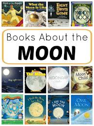 fiction and nonfiction books about the moon