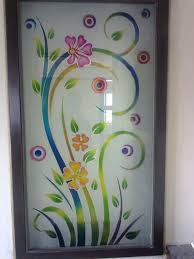 Glass Painting Designs For Wall Hanging Pdf Glass Colour Etching Glass Painting Designs Glass Etching