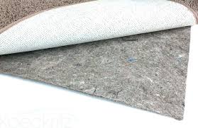 natural rug pad rubber rug pad x non skid reversible rubber felt area rug natural rubber