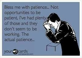 Patience is a Virtue... - Party of One