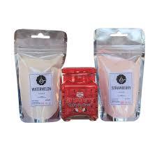 pink milk bubble tea lightbox lightbox