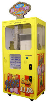 Robot Cotton Candy Vending Machine Mesmerizing Discontinued Vending Machines Reference Page CF From BMI Gaming
