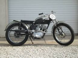 1957 triumph tiger cub t20c competition model fired up running