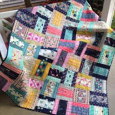 Quilting Designs For A Rail Fence Quilt
