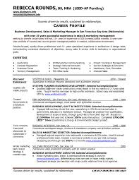 Business To Business Sales Resume Sample Gulijobs Com