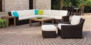 wicker furniture for sunroom. Round Wicker Outdoor Setting Patio Set Sectional Furniture Armchairs Sunroom All Weather Sofa For