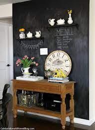kitchen chalkboard wall decor