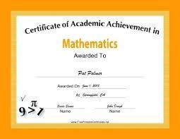 Achievement Awards Certificates Templates Printable Award Certificates Achievement Merit Honor