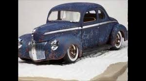 1940 Ford coupe rat rod - YouTube