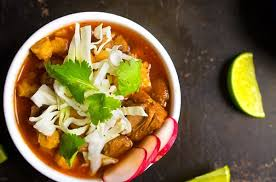 slow cooker red posole soup recipe authentic mexican pork and hominy stew