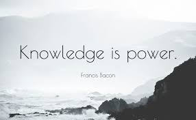 Knowledge Is Power Quote Unique Knowledge Is Power Quote Mr Quotes