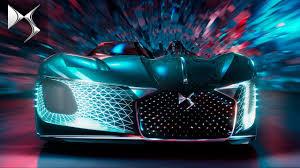 Dream Automotive Lighting Ds X E Tense Dream Car Looking Forward To 2035
