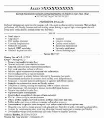 Store Clerk Resumes Grocery Store Clerk Resume Sample Clerk Resumes Livecareer