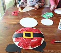 Paper Plate Christmas Ornament Craft For Kids  Christmas Ornament Christmas Crafts Using Paper Plates