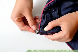image titled repair a zipper when the slider has come off completely step 3