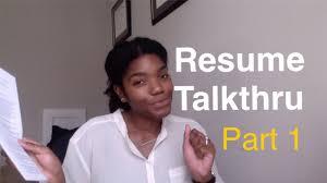 Crna School And New Grad Rn Resume Talkthru Youtube