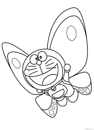 They are mini versions of doraemon, each with a different color. Doraemon Coloring Pages Printable Coloring4free Coloring4free Com