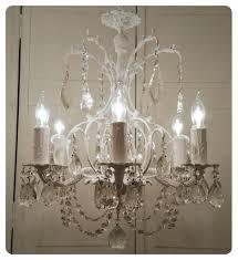 ornate lighting. Ornate Vintage Crystal Chandelier Lighting Whitewashed Shabby Chic Cottage \ A