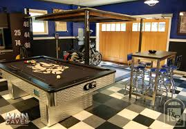 Man Cave Garage Ideas Single Professional Paint