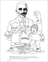 Coloring Pages Of George Washington Carver Coloring Page Black
