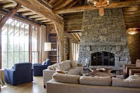custom fireplace door rusticlivingroom rustic living rooms with fireplaces13 rustic