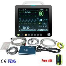 Medical Monitoring Medical Monitoring System Patient Monitor Nibp Spo2 Ecg Temp Resp Pr Hospital Ce