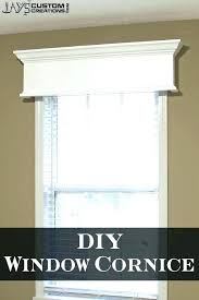 cornice board kits wood boards easy decor window cornices ideas on fabric covered directions crown