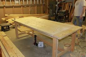 Build dining room table ...