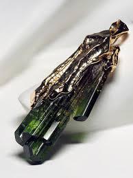 <b>Верделит зеленый турмалин</b> украшения купить - Gabilo